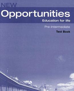 New Opportunities. Pre-Intermediate. Test Book