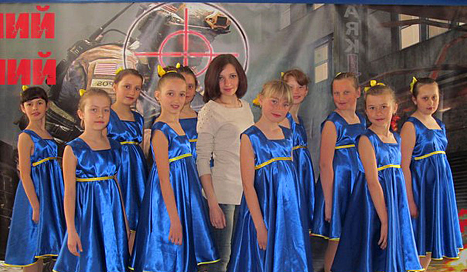 Хореографічний гурток. 2013 рік
