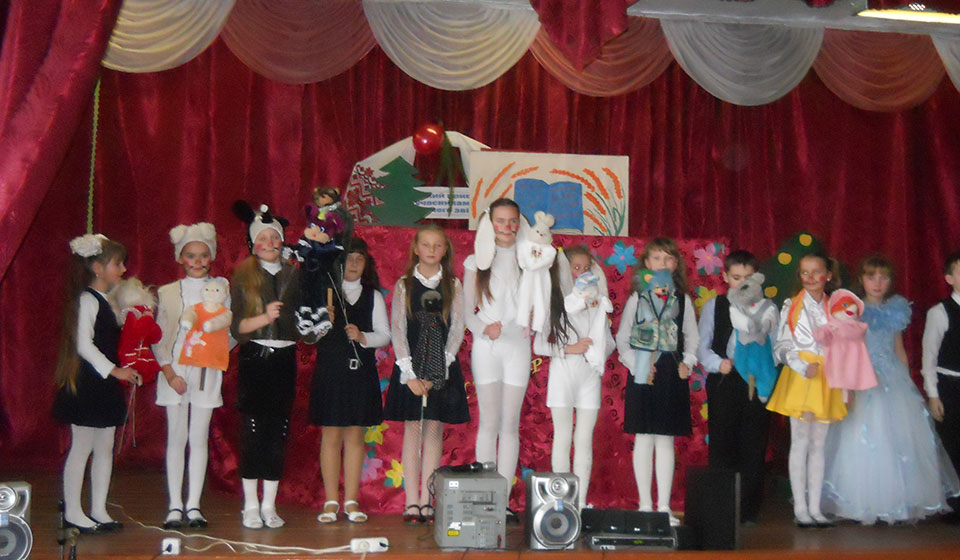 Гурток «Ляльковий театр». 2010 рік