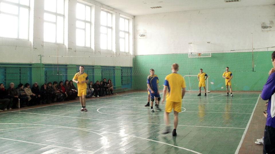 Гурток з волейболу. 2012 рік