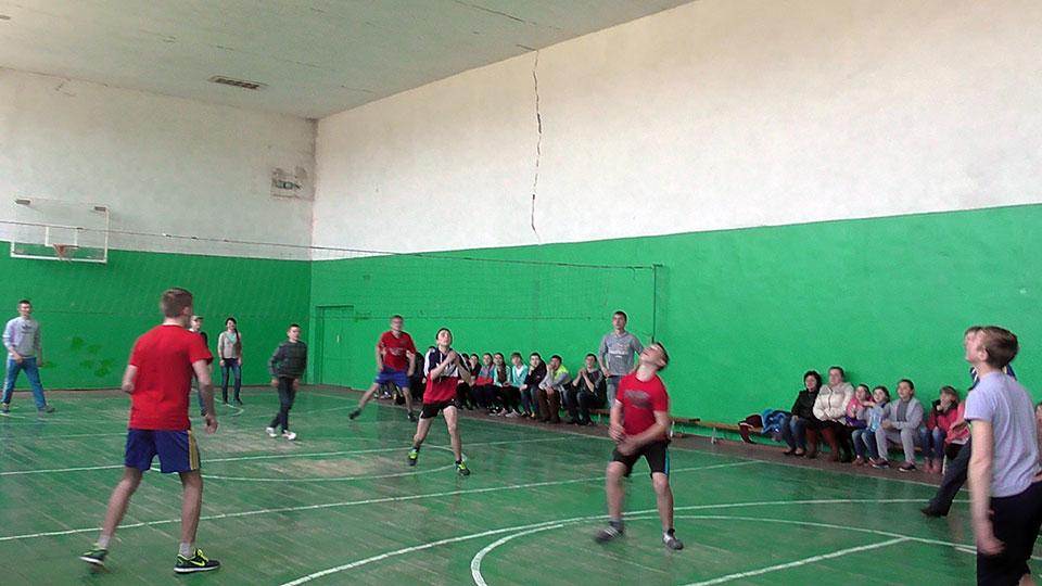 Гурток з волейболу. 2015 рік