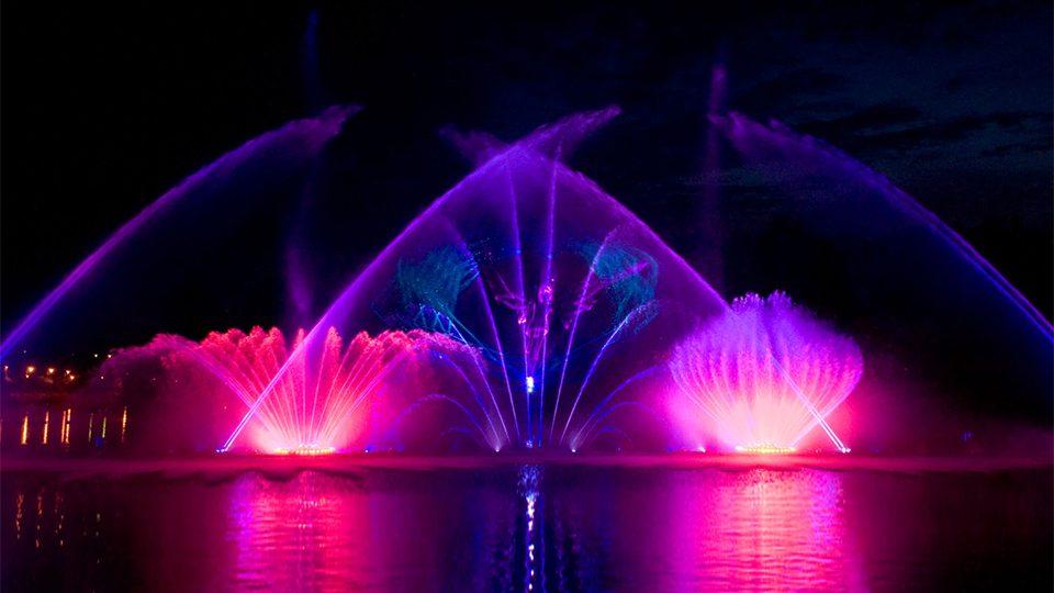 Екскурсія на вінницькі фонтани