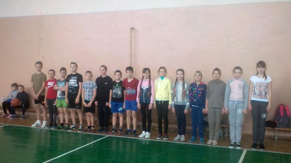 Змагання з волейболу та баскетболу
